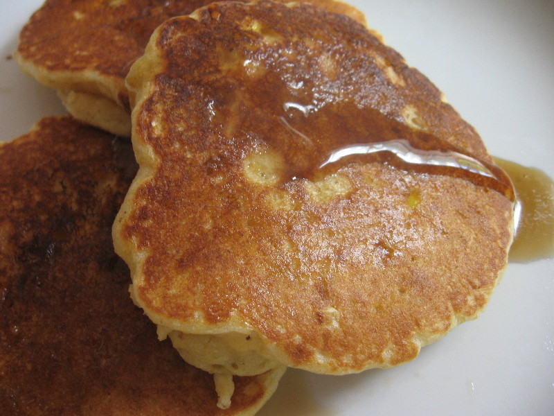 cornmeal pancakes with sweet corn adapted from the pancake handbook