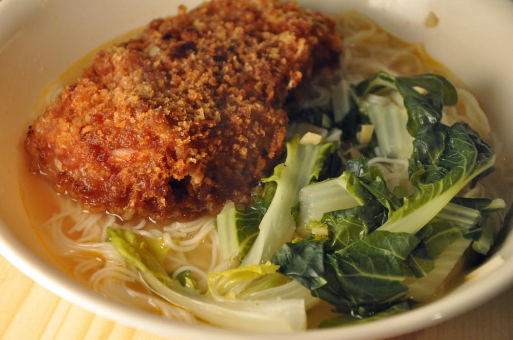 pork chop noodle soup